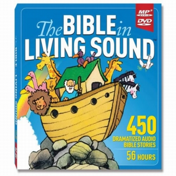 The Bible in Living Sound MP3 DVD by Bible in Living Sound